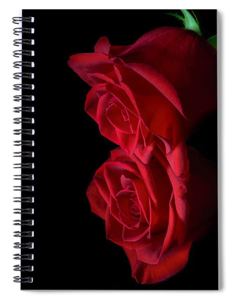 Spiral Notebook featuring the photograph Reflecting Beauty by Garvin Hunter