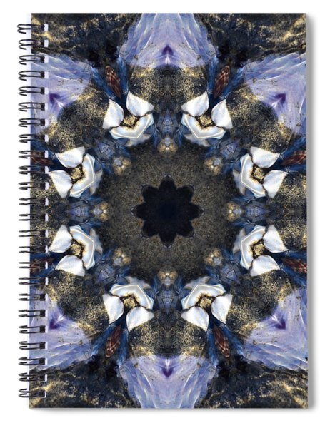 Reflection - Kaleidoscope Art Spiral Notebook