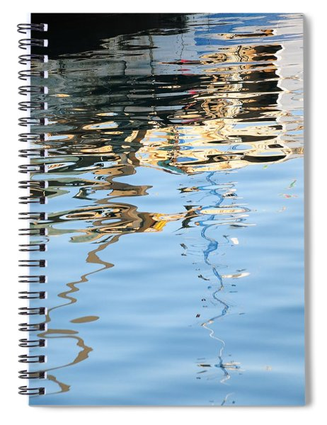 Reflections - White Spiral Notebook