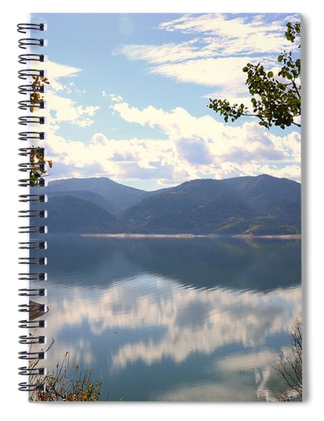 Reflections At Palisades Spiral Notebook