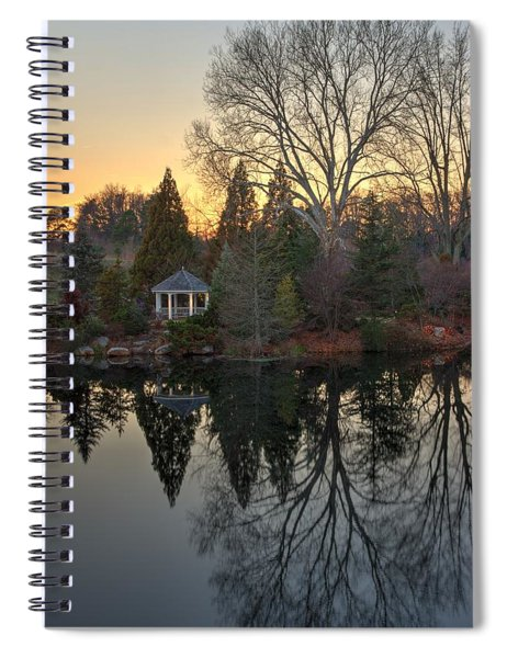 Reflections At Sunset Spiral Notebook