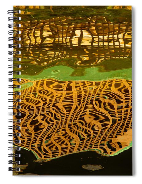 Reflections Baroque 3  Spiral Notebook