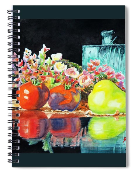 Reflections In Color Spiral Notebook