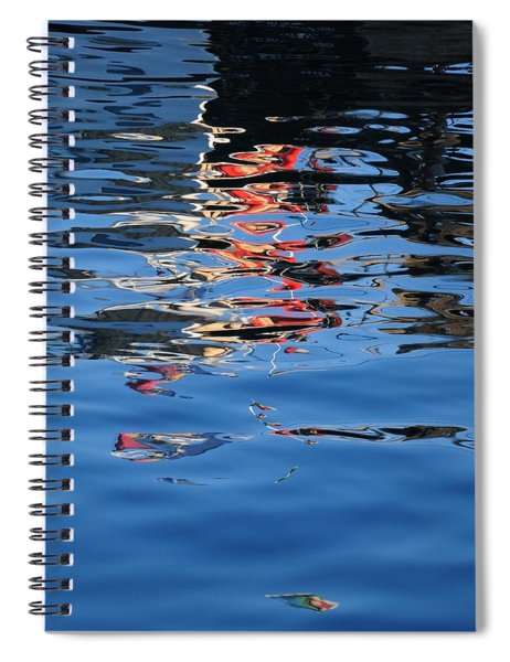 Reflections In Red Spiral Notebook