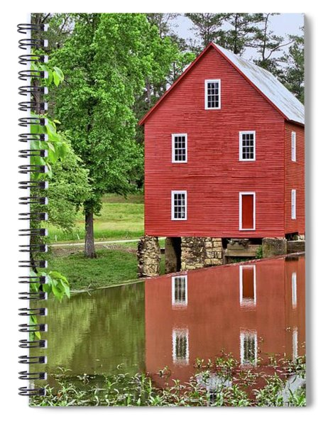 Reflections Of A Retired Grist Mill Spiral Notebook
