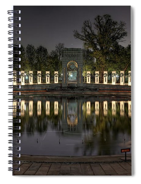 Reflections Of The Atlantic Theater Spiral Notebook