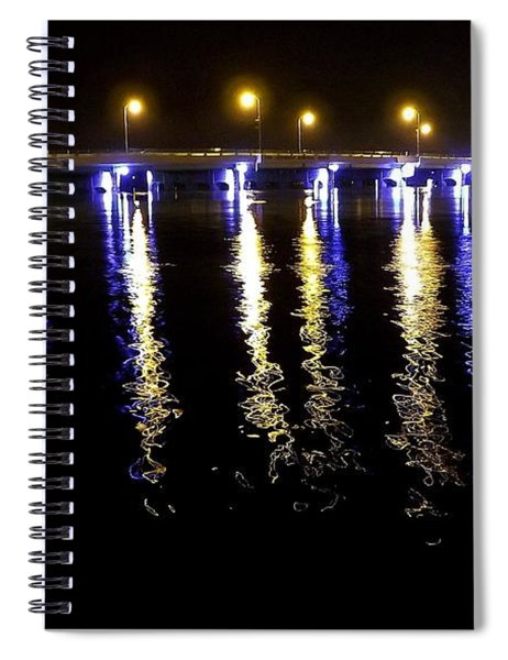 Reflections Of Time Past Spiral Notebook