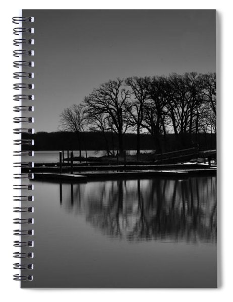 Reflections Of Water Spiral Notebook