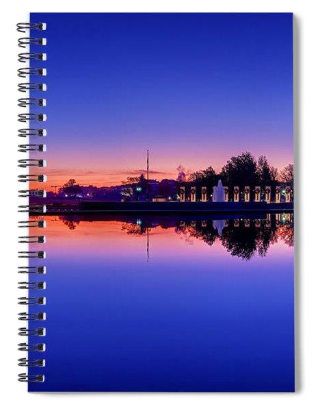 Reflections Of World War II Spiral Notebook