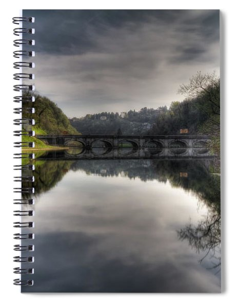 Reflections On Adda River Spiral Notebook