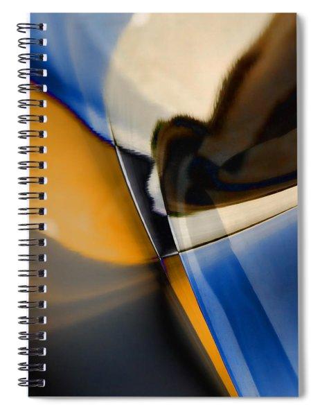 Reflections On Porsche No. 1 Spiral Notebook