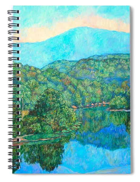 Reflections On The James River Spiral Notebook