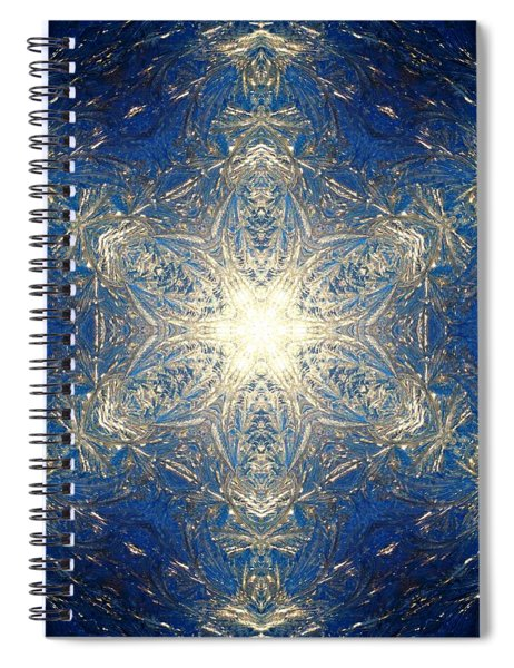 Reflective Ice I Spiral Notebook