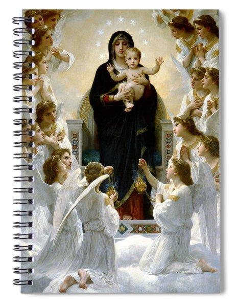 Regina Angelorum Spiral Notebook