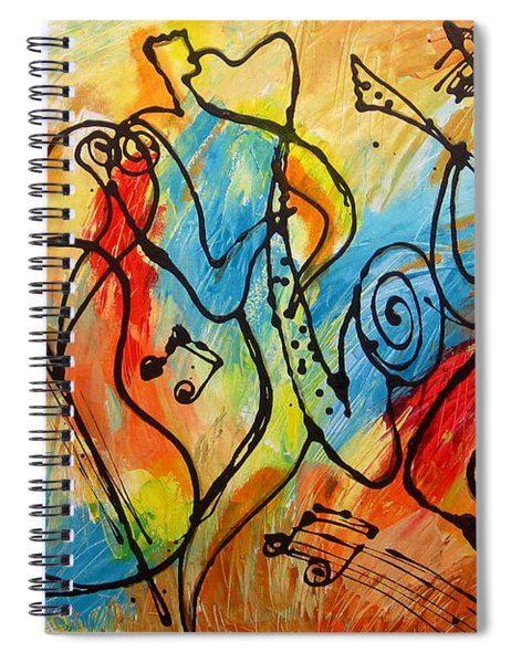 Ragtime 2 Spiral Notebook