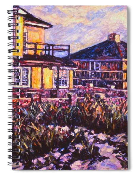 Rehoboth Beach Houses Spiral Notebook