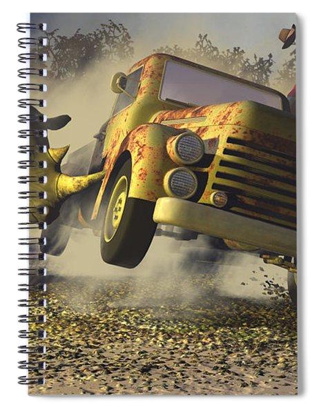 Relative Mass Spiral Notebook