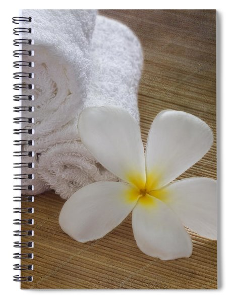 Relax At The Spa Spiral Notebook