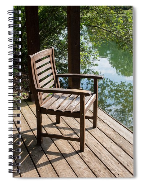 Alone By The Lake Spiral Notebook