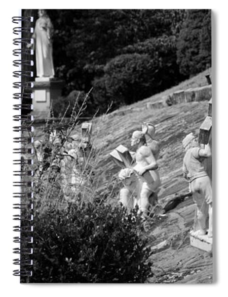 Religious Statues Spiral Notebook