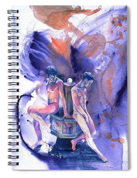 Reluctant Grace Spiral Notebook