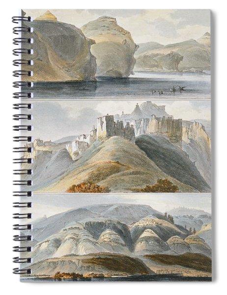 Remarkable Hills On The Upper Missouri Spiral Notebook