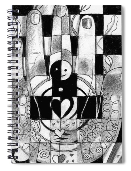 Remember To Love And Nurture Spiral Notebook