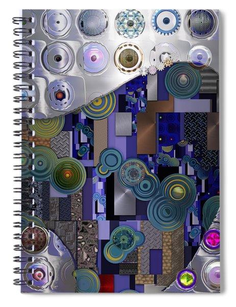 Remodern Dream Abstractor  Spiral Notebook