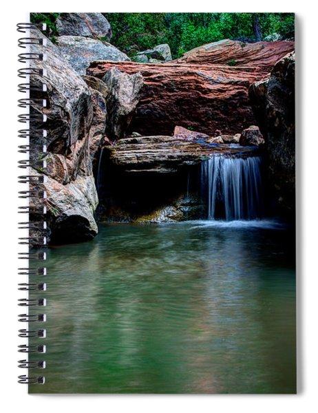 Remote Falls Spiral Notebook