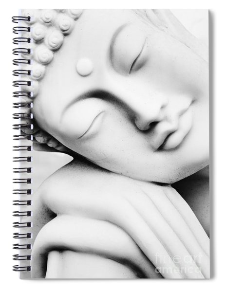 Restful Buddha Spiral Notebook