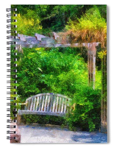 Restful Retreat Spiral Notebook