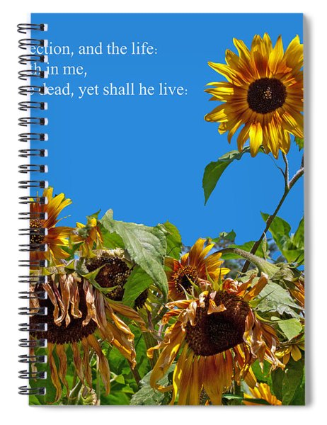 Resurrected Life Spiral Notebook