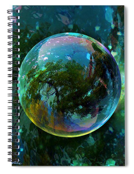 Reticulated Dream Orb Spiral Notebook