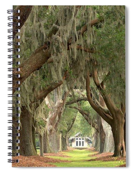 Retreat Avenue Of The Oaks Spiral Notebook