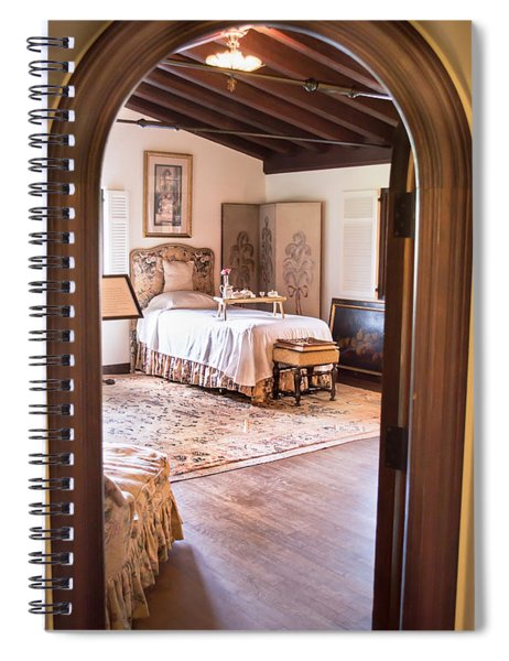 Retreat To The Past Spiral Notebook
