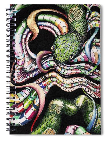 Retro Zeitgeist Spiral Notebook