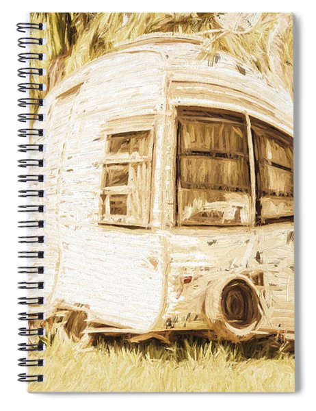 Retrod The Comic Caravan Spiral Notebook