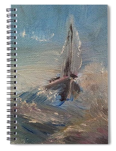 Return To Shores Spiral Notebook
