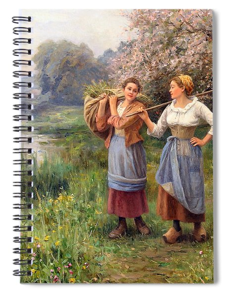 Returning From The Field Spiral Notebook