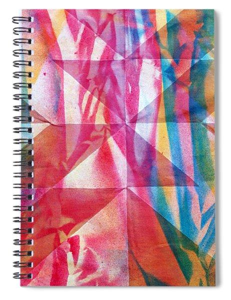 Rhythm And Flow Spiral Notebook