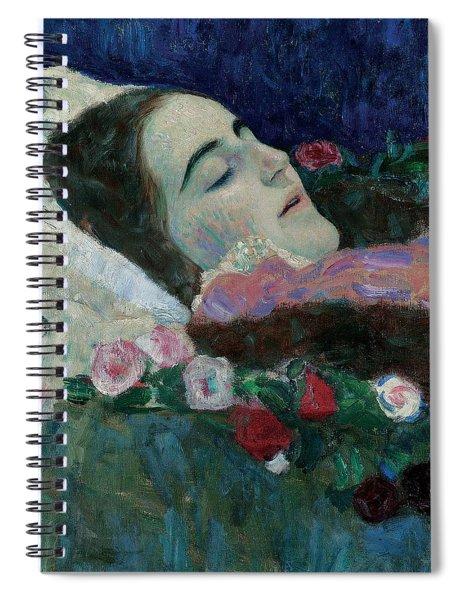 Ria Munk On Her Deathbed Spiral Notebook