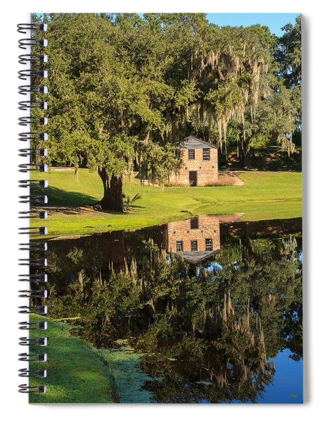 Rice Mill  Pond Reflection Spiral Notebook