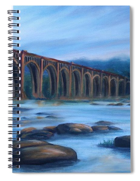Richmond Train Trestle Spiral Notebook