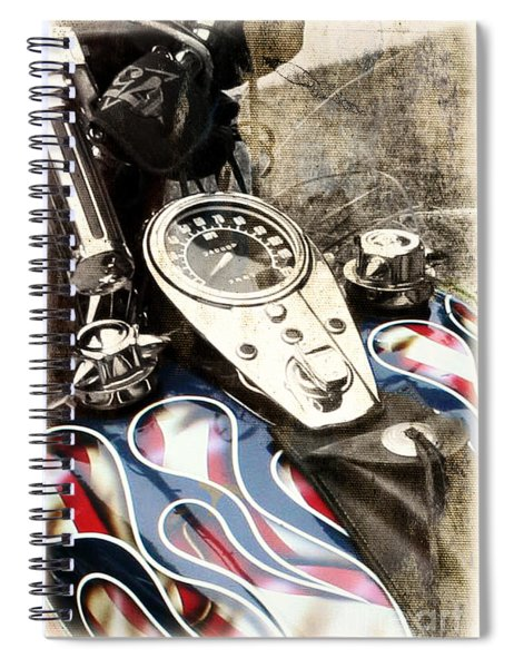 Ride With Pride Spiral Notebook