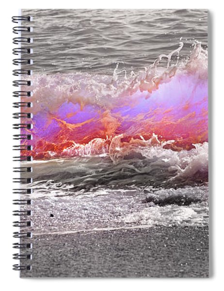 Ride Your Wave Spiral Notebook