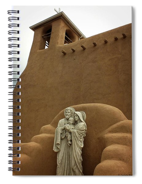 Righteous And Mercy Spiral Notebook