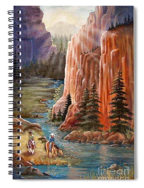 Rim Canyon Ride Spiral Notebook