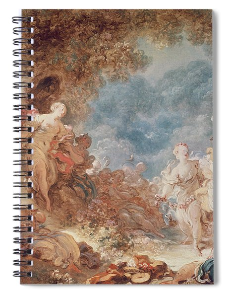 Rinaldo In The Gardens Of Armida Oil On Canvas See Also 250309 Spiral Notebook