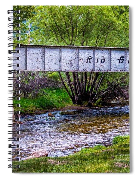 Rio Grande Bridge Spiral Notebook