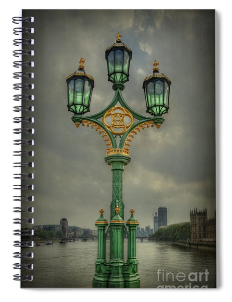 Rise Above City Spiral Notebook